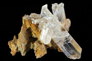 "2.3"" Selenite Crystals on Matrix - Mexico For Sale, #71948"