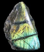 "Buy 5.7"" Tall, Single Side Polished Labradorite - Madagascar - #72565"
