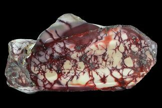 "Buy 7.2"" Brilliant, Red/Purple, Polished Mookaite Jasper - #74089"