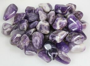 Buy Bulk Polished Banded Amethyst - 8oz. (~ 18pc.) - #75679