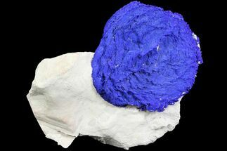 "Buy 2.2"" Brilliant Blue Azurite Sun - Australia - #77302"