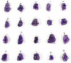 Quartz var. Amethyst - Fossils For Sale - #77874
