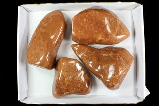 Orange Calcite - Fossils For Sale - #78120
