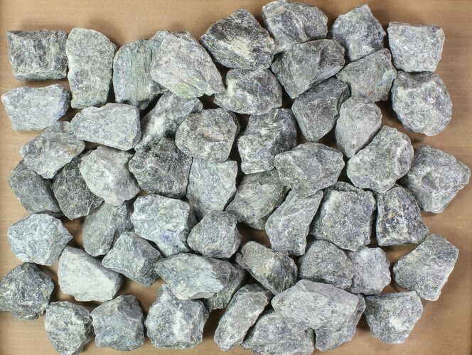 "Wholesale Lot: 2-3"" Raw, Unpolished Labradorite - - 5kg (11 lbs)"