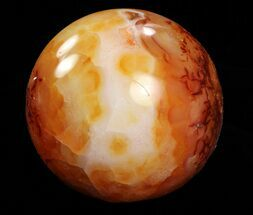 "Buy Wholesale Box: 2- 3"" Polished Carnelian Spheres - 5 kg (11 lbs) - #78019"