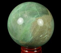 "2.9"" Polished Garnierite Sphere - Madagascar For Sale, #79004"