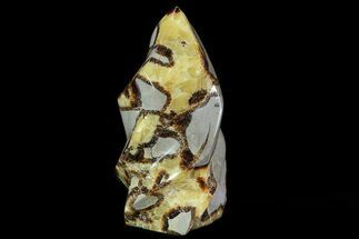 "6.1"" Polished Septarian Flame Sculpture For Sale, #78356"