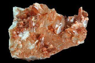 Quartz with Iron Oxide - Fossils For Sale - #80652