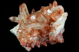 "2.9"" Natural Red Quartz Crystal Cluster - Morocco For Sale, #80648"