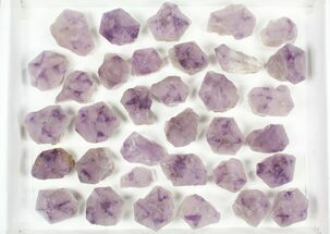 "Buy Wholesale Lot: 1 1/2 to 3"" Cut Base Amethyst Crystals - 34 Pieces - #80977"