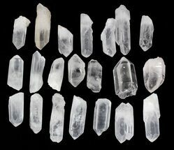 "Bulk Quartz Points from Madagascar (2-3"" size) - 1 KG Bag For Sale, #81158"