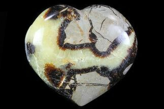 "Buy 3.1"" Polished Septarian Heart - #82045"