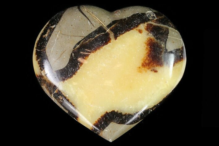 "3"" Polished Septarian Heart"