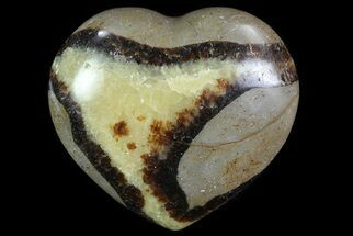 "Buy 3"" Polished Septarian ""Heart""  - #82063"