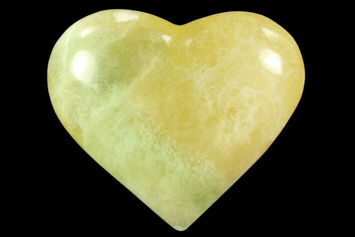 "3.1"" Polished Fluorite Heart - Argentina"