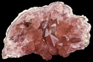 Quartz var. Pink Amethyst - Fossils For Sale - #84492