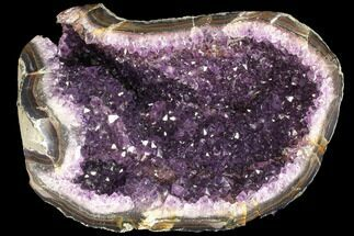 "8.2"" Deep Purple Amethyst Geode - Uruguay For Sale, #87443"