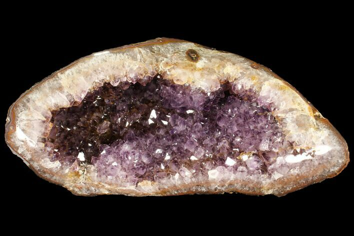 "Beautiful, 10.5"" Purple Amethyst Geode - Uruguay"