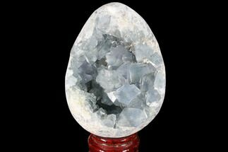 "4"" Crystal Filled Celestite ""Egg"" Geode  For Sale, #88319"