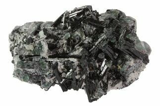 "Buy 1.8"" Black Tourmaline (Schorl) & Fluorite Association - Namibia - #90694"