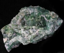 "Buy 2.75"" Green Fluorite & Druzy Quartz - Colorado - #33355"