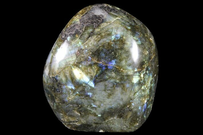 "3.6"" Flashy Polished Labradorite Free Form"