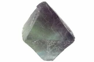 "Buy 1.66"" Fluorite Octahedron - Purple/Green Banded - #90928"
