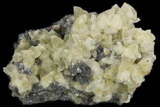 "Buy 6.7"" Calcite Crystal Clusters in Dolomite Matrix - Missouri - #91117"