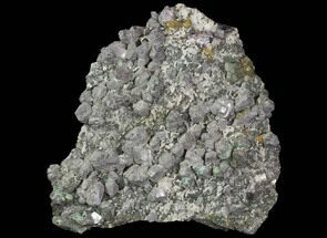 "10.2"" Galena, Chalcopyrite, Barite and Quartz Association - Morocco For Sale, #91118"