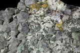 "10.2"" Galena, Chalcopyrite, Barite and Quartz Association - Morocco - #91118-1"