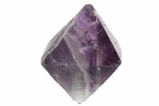 "Buy 1.67"" Fluorite Octahedron - Purple/Green  - #90934"