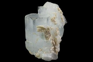 "1.3"" Aquamarine Crystal Cluster - Pakistan For Sale, #90977"
