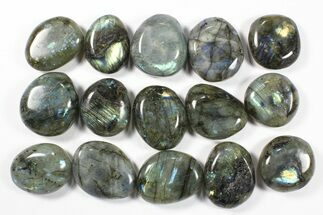 Buy Wholesale Box: Polished Labradorite Pebbles - 1 kg (2.2 lbs) - #90484