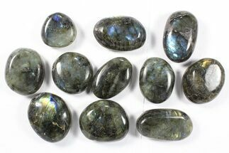 Buy Wholesale Box: Polished Labradorite Pebbles - 1 kg (2.2 lbs) - #90517