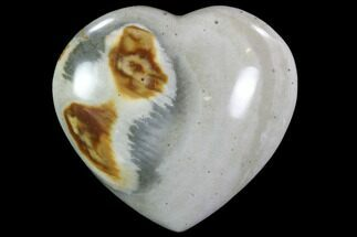 "Buy 2.8"" Polychrome Jasper Heart - Madagascar - #92068"