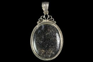 Buy Polished Fossil Dinosaur Bone (Gembone) Pendant - #93304