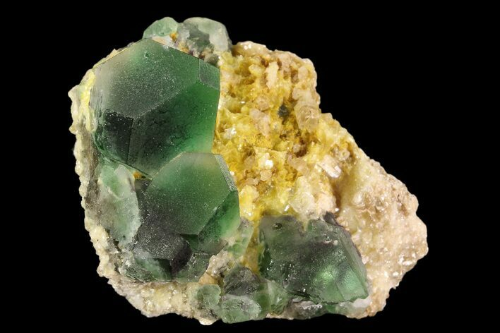 "1.9"" Fluorite, Goshenite & Mica Association - Namibia"