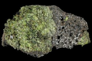 "3.5"" Peridot in Basalt - Arizona For Sale, #93971"