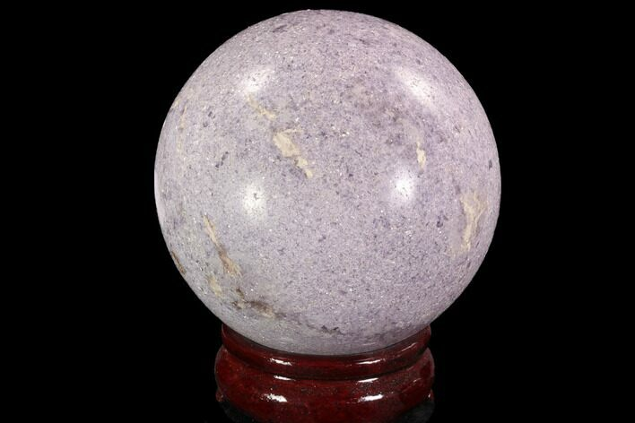 "3.35"" Sparkly, Purple Lepidolite Sphere - Madagascar"