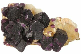 Fluorite & Quartz - Fossils For Sale - #94320