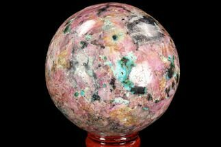 "2.4"" Polished Cobaltoan Calcite Sphere - Congo For Sale, #95015"