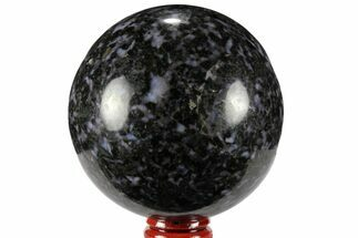 "Buy 3"" Polished, Indigo Gabbro Sphere - Madagascar - #96007"