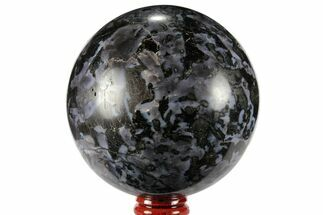 "Buy 3.4"" Polished, Indigo Gabbro Sphere - Madagascar - #96022"