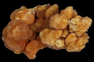 "Buy 2"" Red-Orange, Botryoidal Aragonite Formation - Peru - #97639"