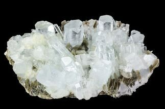 Beryl var. Aquamarine & Muscovite - Fossils For Sale - #97668