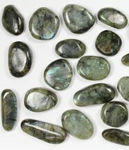 Buy Wholesale Box: Polished Labradorite Pebbles - 1 kg (2.2 lbs) - #90631
