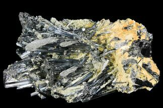 "Buy 4.1"" Metallic Stibnite Crystal Cluster - China - #97819"