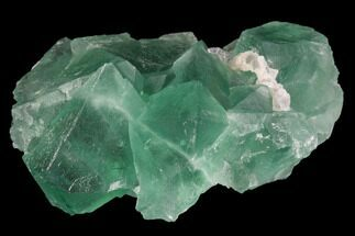 "Buy 2.6"" Green Fluorite Crystal Cluster - China - #98065"