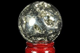"Buy 2.25"" Polished Pyrite Sphere - Peru - #97999"