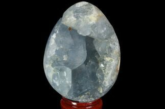 "Bargain, 2.4"" Crystal Filled Celestine (Celestite) ""Egg"" Geode - Madagascar For Sale, #98789"
